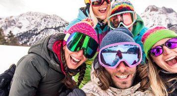 Snowboard w Alpach włoskich